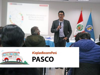 Ceplan recorre Peru – Pasco