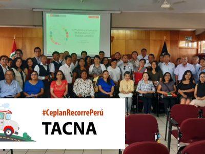 Ceplan recorre Peru – TACNA